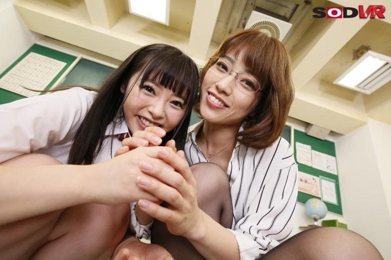 小倉由菜・市川まさみのエロVR動画レビュー『最高のJOIでめちゃくちゃ気持ちいいオナニーさせてア・ゲ・ル』を視聴した感想