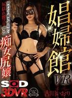 古川いおり『【VR】【高級娼婦館VR】 挿れたら離さず豪快に尻揺れ腰フリする痴女尻嬢』のパケ画像