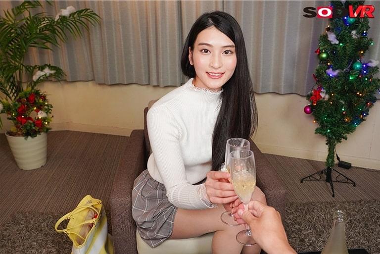本庄鈴のエロVR動画レビュー『顔面レベル最高ランクな高嶺の花の超美人彼女と最初から最後までキス100回SEX』を視聴した感想