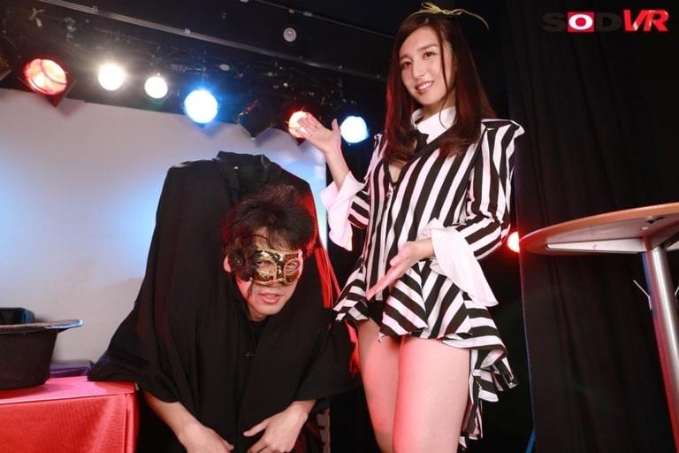 古川いおりのエロVR動画レビュー『マジシャンガールのイリュージョンSEX SHOW』を視聴した感想